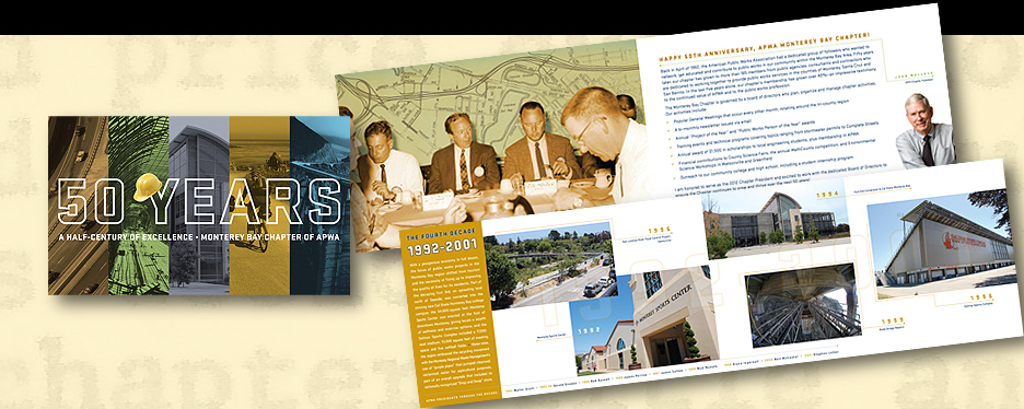 APWA Monterey Bay Chapter 50-Year Anniversary Booklet
