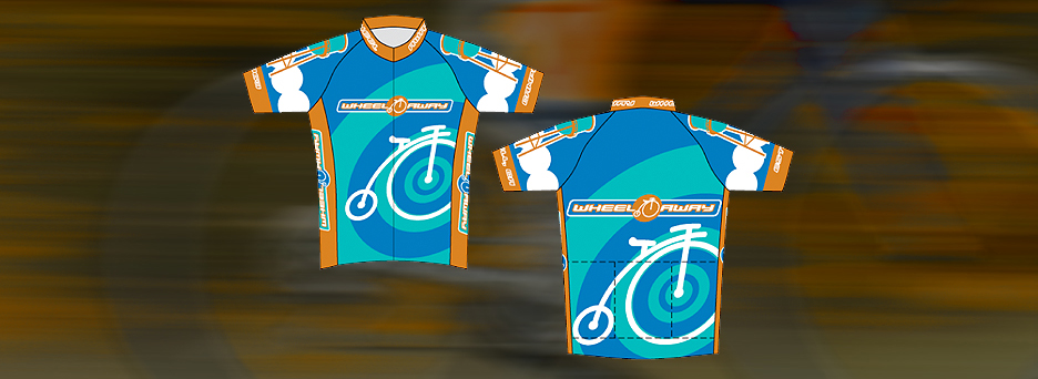 Wheel Away Cycling Jersey